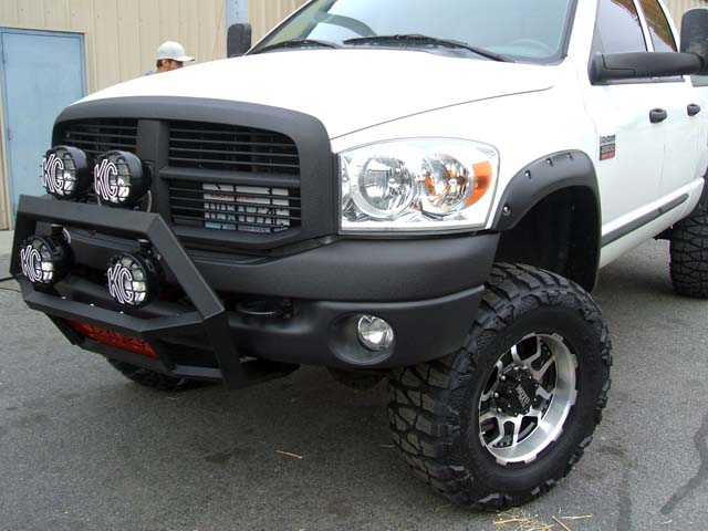 Front light bar ram rebel forum click image for larger version name bull bar on white dodgeg views mozeypictures Choice Image