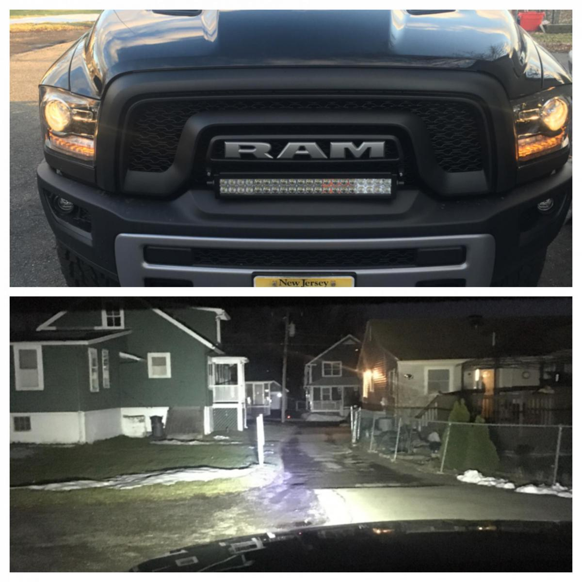 Led light bar page 2 ram rebel forum click image for larger version name image1455148559079g views 6474 size 1348 mozeypictures Image collections