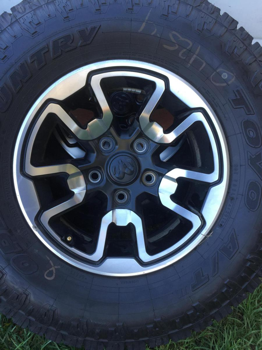 2016 Ram Rebel Oem Wheels Toyo Tires For Sale 771 Miles Like New Dodge 1500 At2 Forum