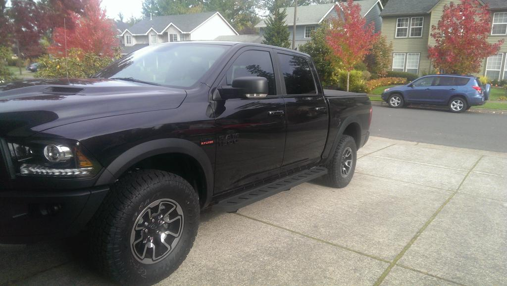 Ram 1500 Side Steps >> Nerf Bar or Running Boards - Page 5 - Ram Rebel Forum